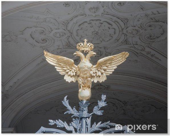 Poster Aigle royal - Bâtiments publics