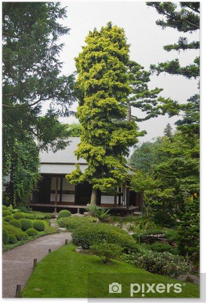 Poster Albert Khan - jardin japonais - Villes européennes