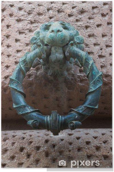 Poster Alhambra de Grenade Anneaux - Monuments