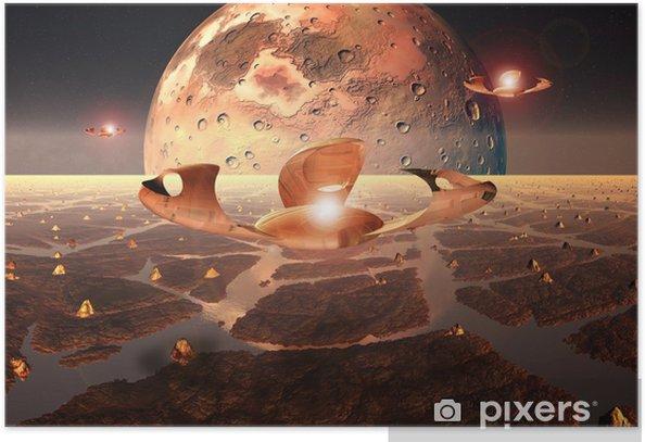 Poster Alien Planet - Nature et régions sauvages