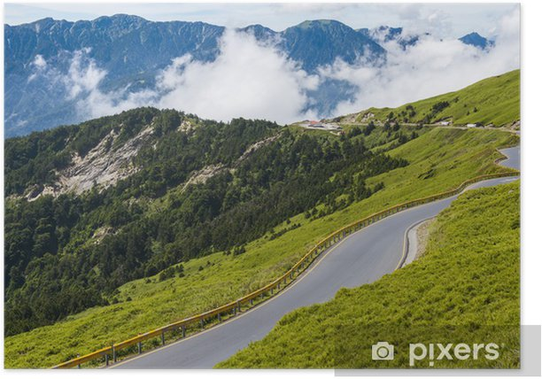 Alpine scenery from Taiwan Poster - Wonders of Nature