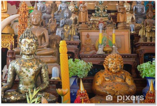 Poster Altar Budista