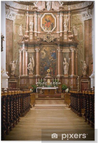 Poster Altar la broche St. Florian - Religion