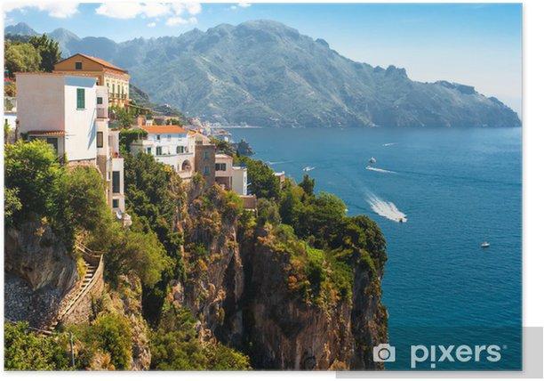 Amalfi coast, Italy Poster - Europe