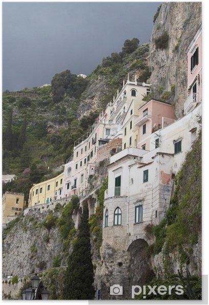 Poster Amalfi, Italie - Europe