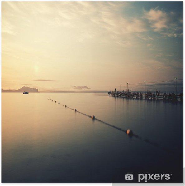Póster Amanecer en el mar Negro - Europa