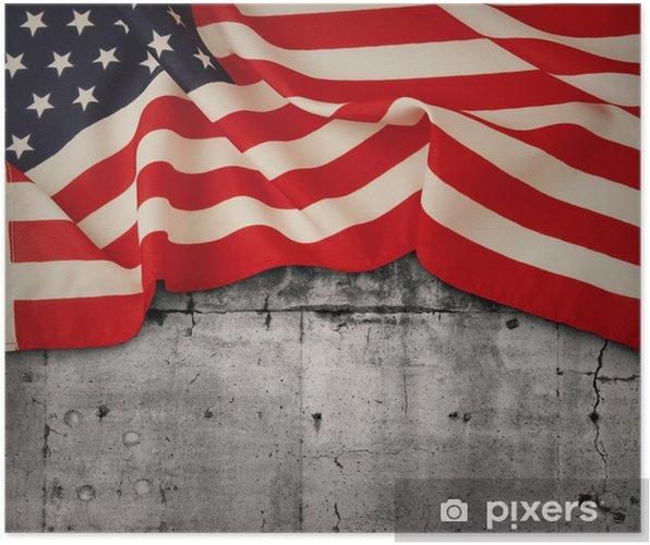 Poster American flag - Thèmes