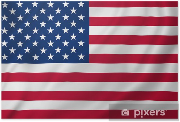 Poster Amerikanska flaggan - Framgång och prestationer