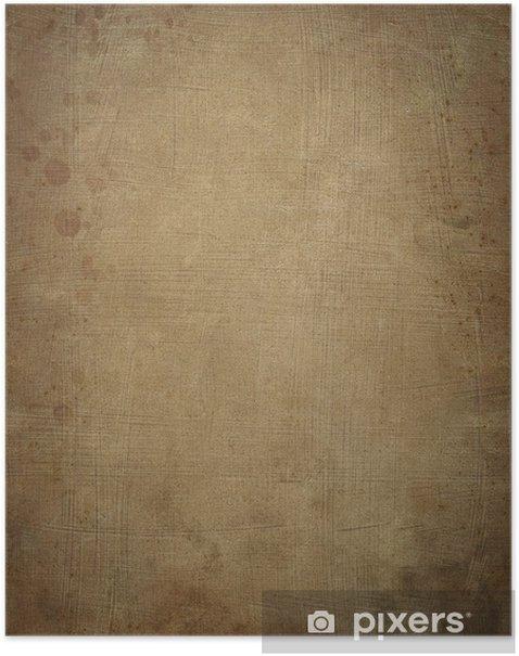 Poster Ancient de papyrus - Textures