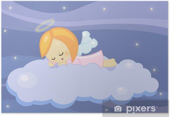 Poster Angioletto addormentato - Enfants