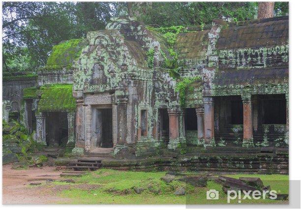 Poster Angkor Wat complexe - Vacances