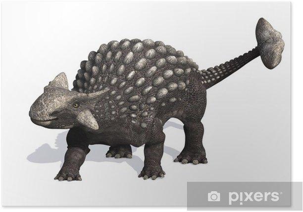 Poster Ankylosaurus - Sticker mural