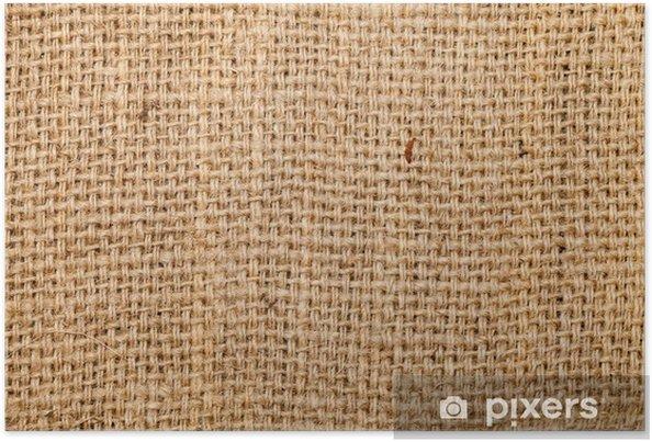 fb9f46320 Póster Antecedentes de saqueo arpillera de yute, tela gruesa hecha ...