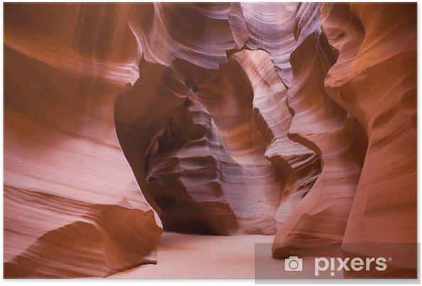 Póster Antelope Canyon Alta - América