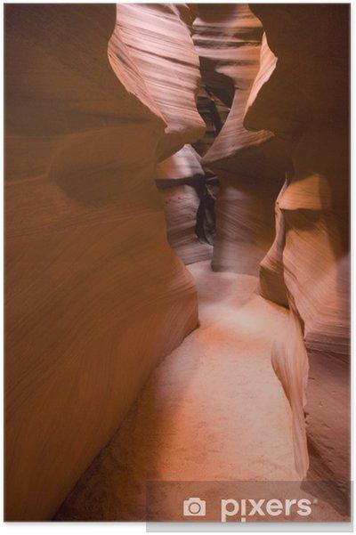 Poster Antelope Canyon, dans l'Utah - Amérique