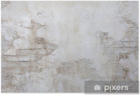 Poster Antik stenmurar - Teman