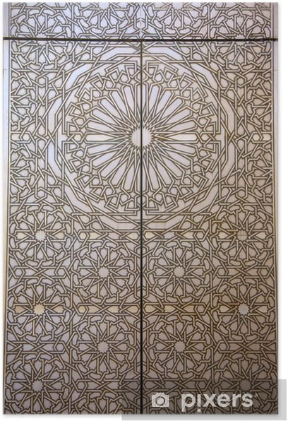 Arabic shape Poster - Africa