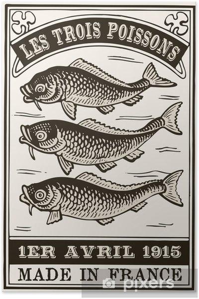 Poster Arbre poisson - Sports