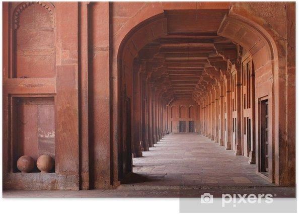 Poster Archways rouges dans la mosquée - Thèmes