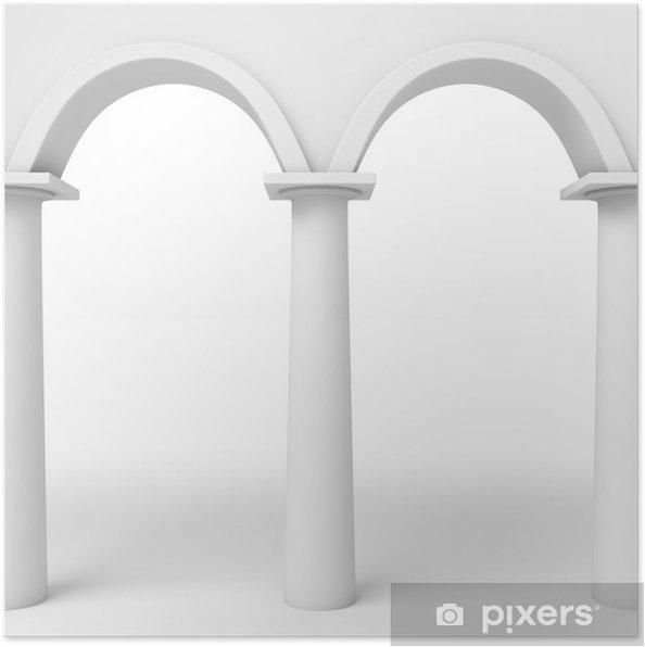 Poster Arcs modèle - Monuments