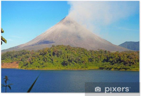 Arenal Volcano, Costa Rica Poster - America