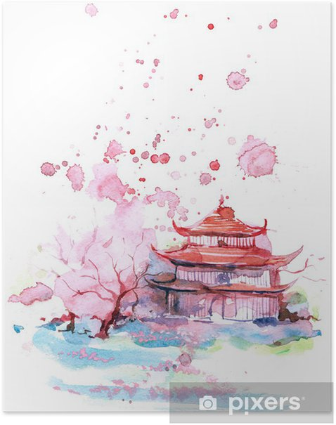 Asia Poster - Wall decals