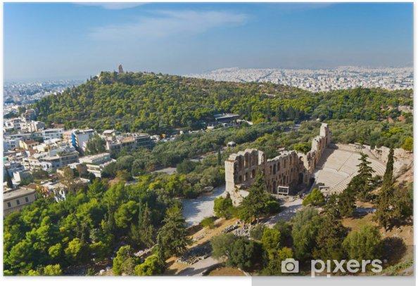 Poster Athènes antique - Europe