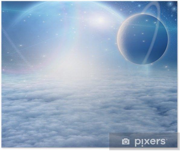 Poster Atmosphère et des planètes - Ciel