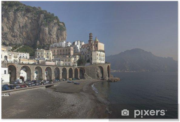 Poster Atrani Panoramica - Europe