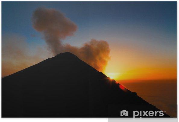 Aufstieg auf den Stromboli-Vulkan Poster - Holidays