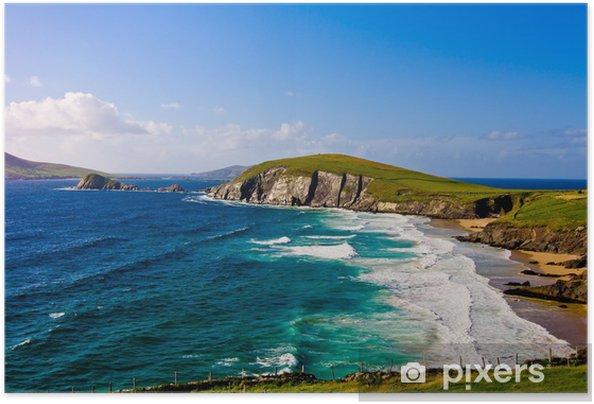 Póster Autoadhesivo Acantilado en la península de Dingle, Irlanda - Temas