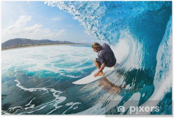 Póster Autoadhesivo Surfing - Temas