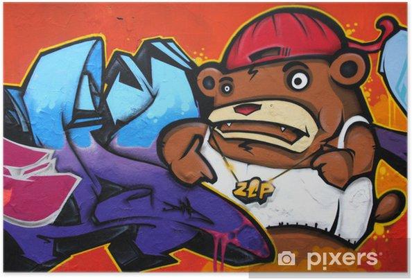 Poster autocollant Graffiti - Thèmes