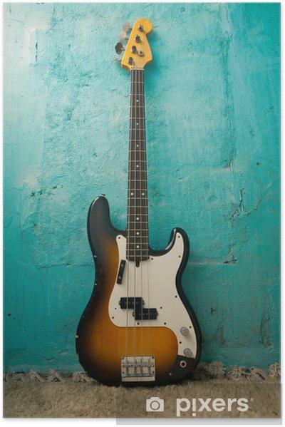 Poster autocollant Guitare - Thèmes