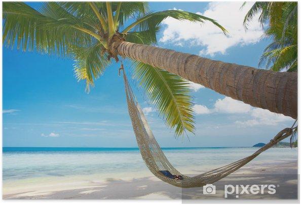 Poster autocollant Livres et des lunettes - Vacances
