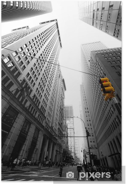Poster Avenue New Yorkaise -