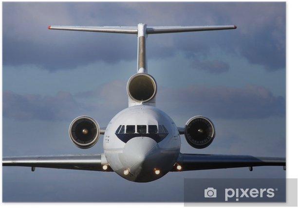 Poster Avion en plein vol - iStaging