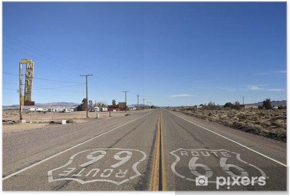 Poster Bagdad Californie - Historic Route 66 - Route 66