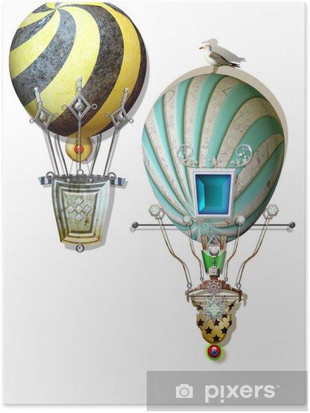 Poster Ballons colorés - Autres sentiments
