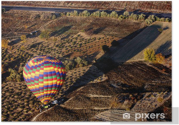 Balloons in Cappadocia, Turkey Poster - The Middle East