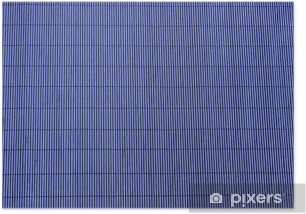 Poster Bambou papier peint - Textures