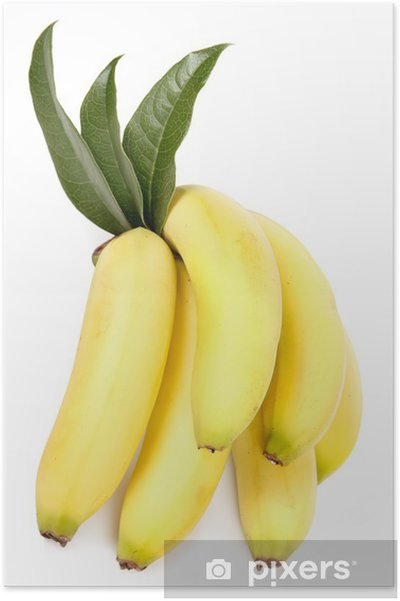 Poster Banane - Fruits