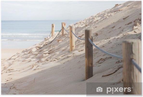 Poster Barrera en las dunas - Vie