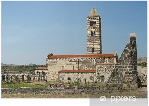 Basilica della Santissima trinità di Saccargia (Sassai) Poster - Europe