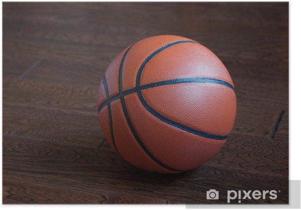 "Poster ""basketball - Réussite"