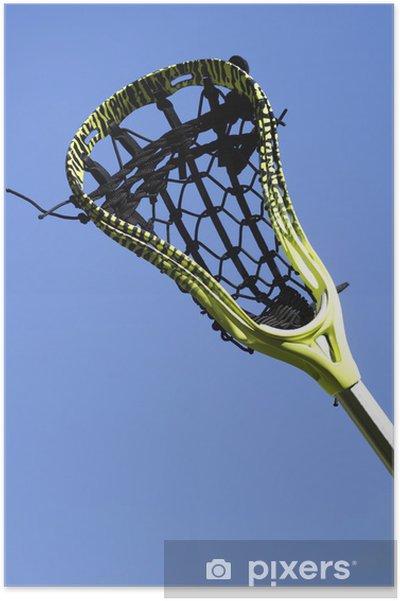 Poster Bâton de crosse dans le ciel - Sports collectifs