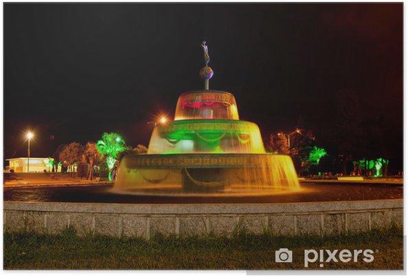 Poster Batumi fontaine - Autres