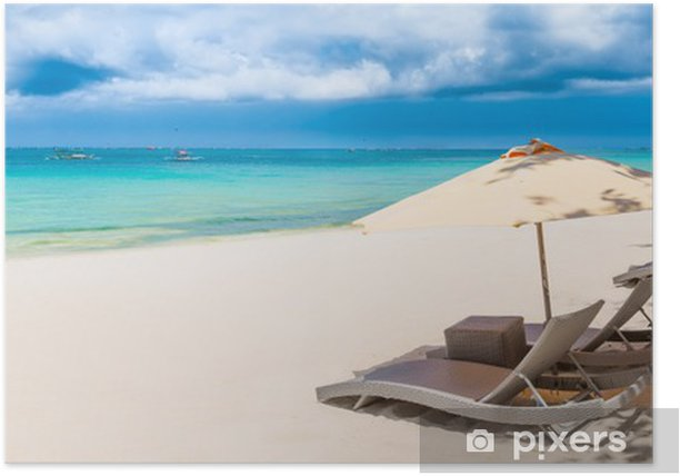 Poster Beach panorama - Thèmes