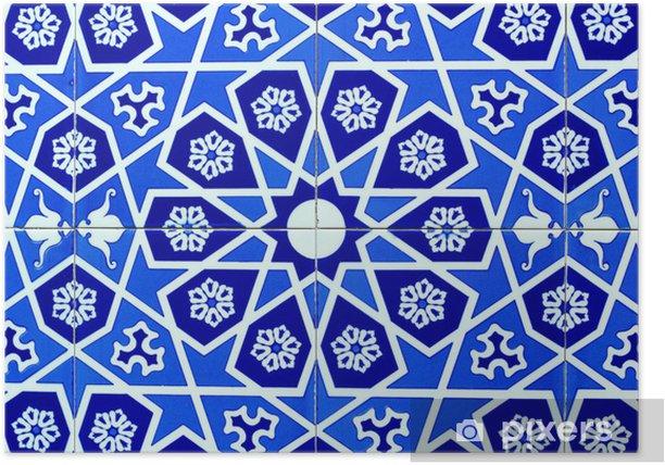Poster Beau Fond ottoman - Moyen Orient
