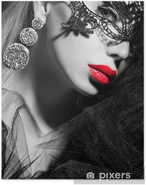 beauty face Poster - Women